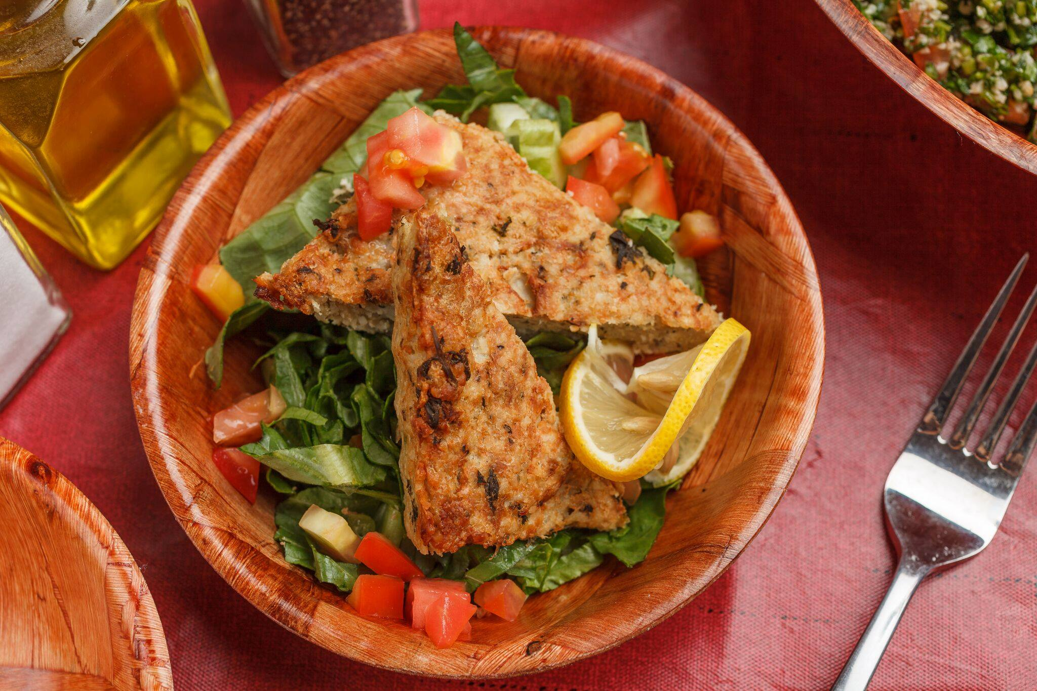 Don't sweat dinner tonight-order takeout from Tabouleh